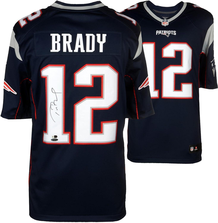 Tom Brady New England Patriots Autographed Nike Limited Navy Jersey - TRISTAR - Fanatics Authentic Certified