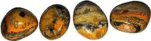 1pc Bumblebee Jasper Medium/Large Rare Hand Polished Healing Crystal Gemstone Specimen from Bali Indonesia