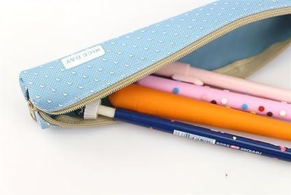 Sun Hero - Estuche para lápices, color azul: Amazon.es ...