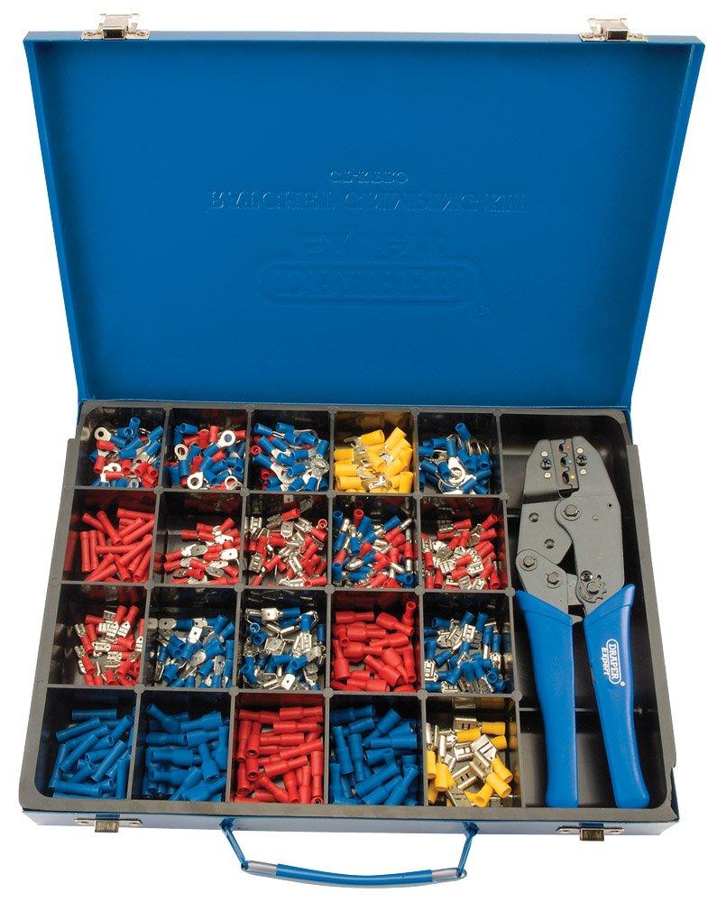 Draper Expert 56383 Ratchet Crimping Kit Draper Tools Hand Tools Other Tools Electrician' s Tools Other Electricians Tools TERMINAL