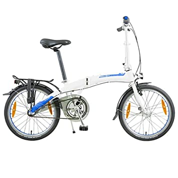 Dahon Faltrad CURVE i3 3 Gang Frost Weiß 20 Zoll Klapp Fahrrad Faltrahmen Aluminium Herren Damen