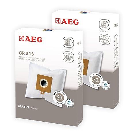 Genuino AEG 460 485 486 467 aspiradora bolsas de tela y ...