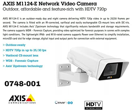 AXIS M1124-E Network Camera Driver Download