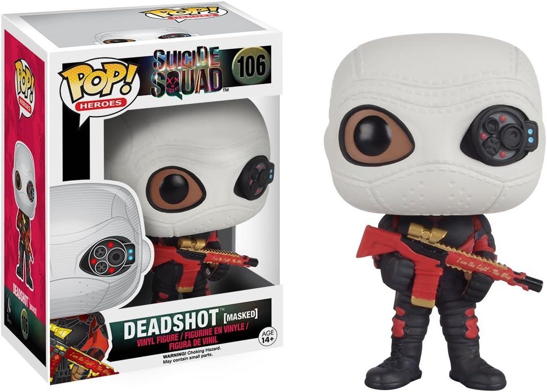 Figurine POP Suicide Squad Deadshot Masked