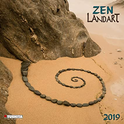 Calendario 2019 Land Art Zen - Art Nature - Arena - flores ...