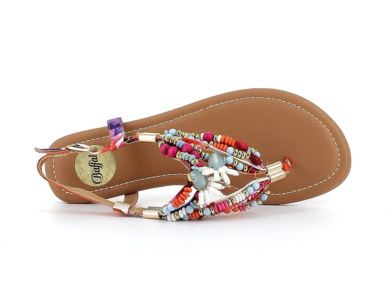 Buffalo Plage Elisse plates De Femme chaussures D'été chaussures IED9WH2