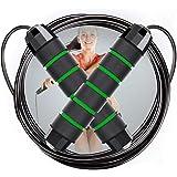 NOCHME Skipping Touwen Voor Volwassenen Tieners Fitness Vrouwen Mannen, Lengte Verstelbare Snelheid Springtouw met…