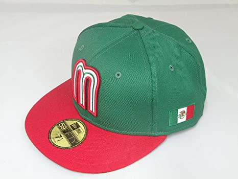 5edf0911a56 Image Unavailable. Image not available for. Color  New Era WBC Mexico 2017 World  Baseball Classic 59FIFTY Fitted Cap ...