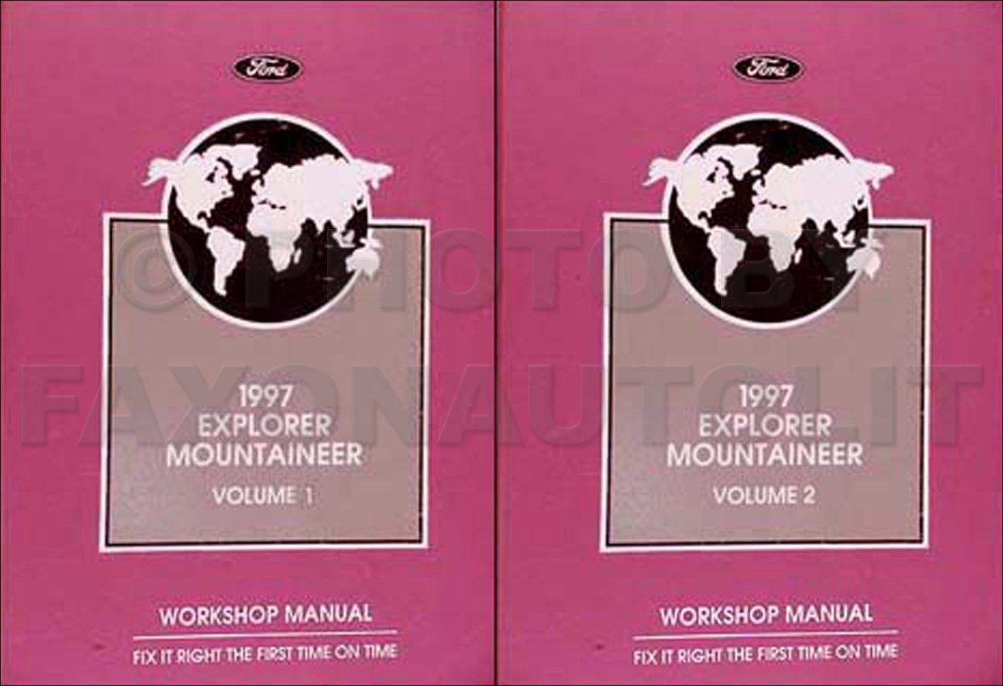 1997 Ford Explorer Repair Shop Manual Original Set: Ford: Amazon.com: Books