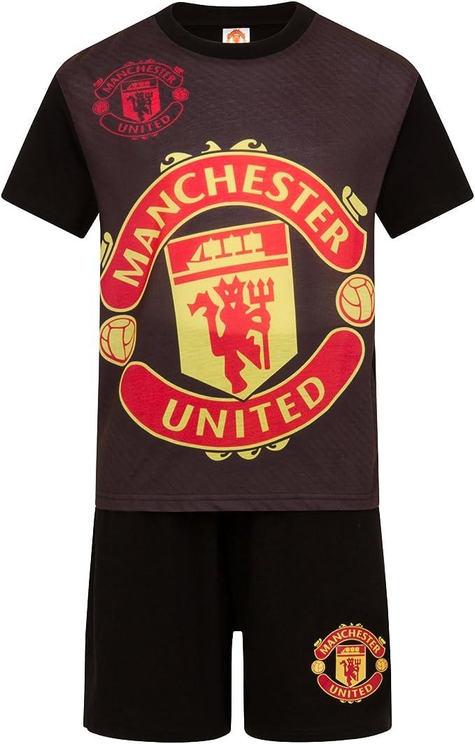 Manchester United Football Club Official Soccer Gift Boys Short Pajamas