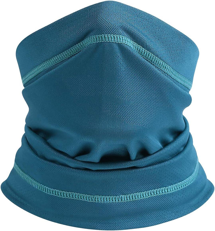 ebossy Unisex Outdoor Sports Stretched Tube Face Clothing Multifunctional Neck Gaiter Bandana Headband Wrap Cycling Running