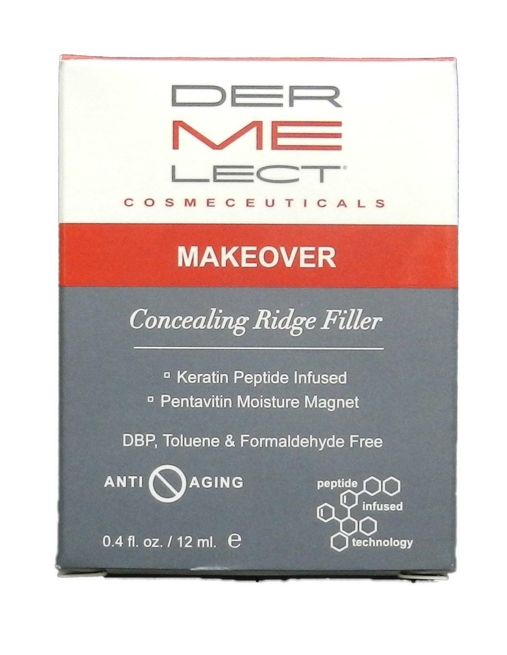 Dermelect Makeover Ridge Filler (Concealer & Base Coat) 12ml: Amazon ...