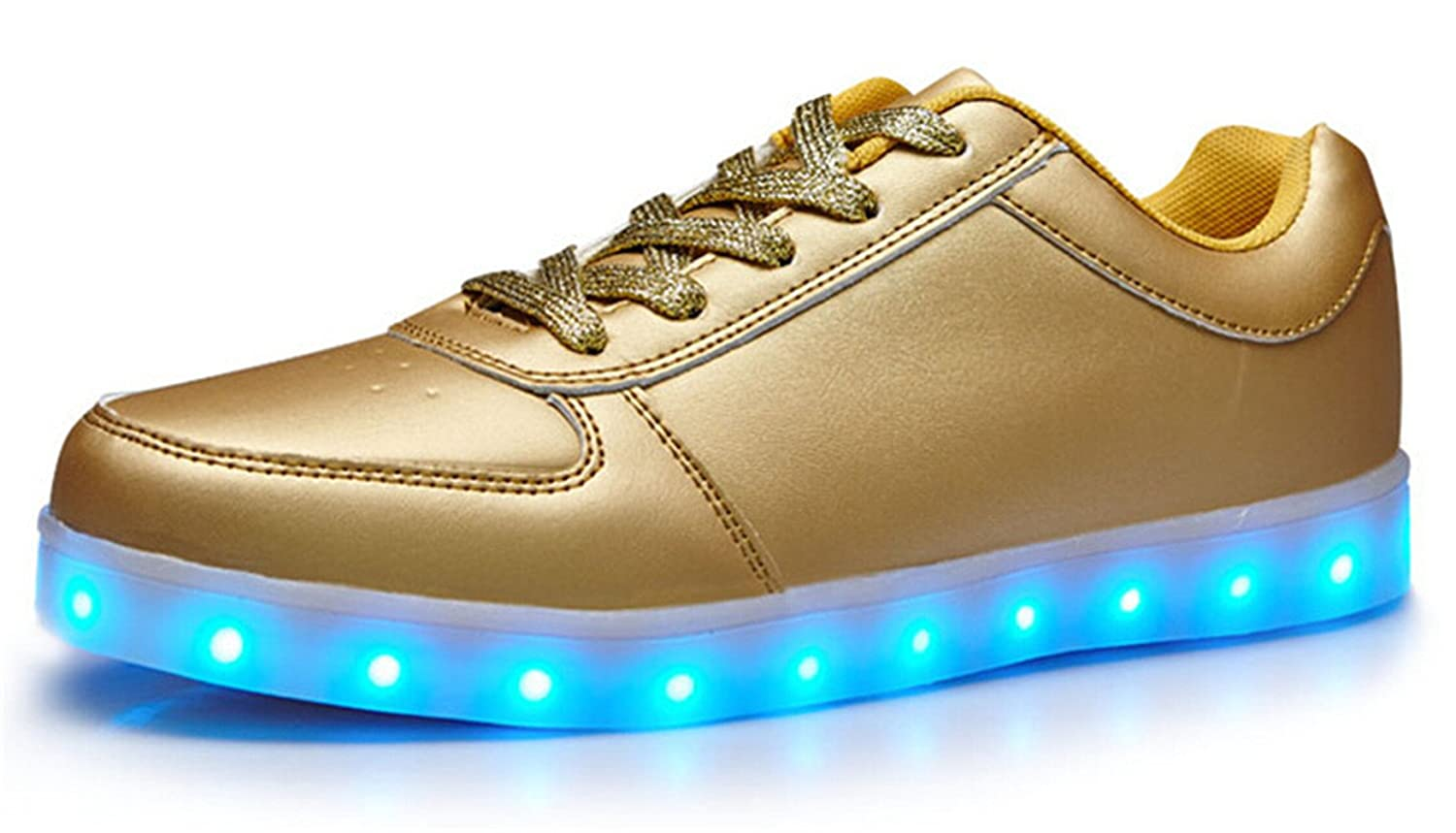 Amazon | Another Summer 7 Colors LED Luminous Unisex Men & Women  Sneakers USB Charging Light colorful Glowing Leisure Flat Shoes | Fashion  Sneakers