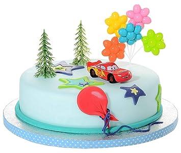 Astounding Cake Topper Kit Disney Cars Cake Design For Children Birthday Personalised Birthday Cards Veneteletsinfo