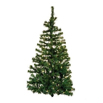 kurt adler pre lit norway pine wall tree 48 inch