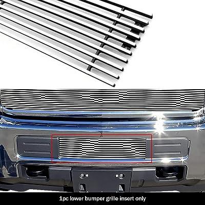 Fits 2015-2020 Chevy 2500HD/ 3500HD Bumper Billet Grille Insert: Automotive