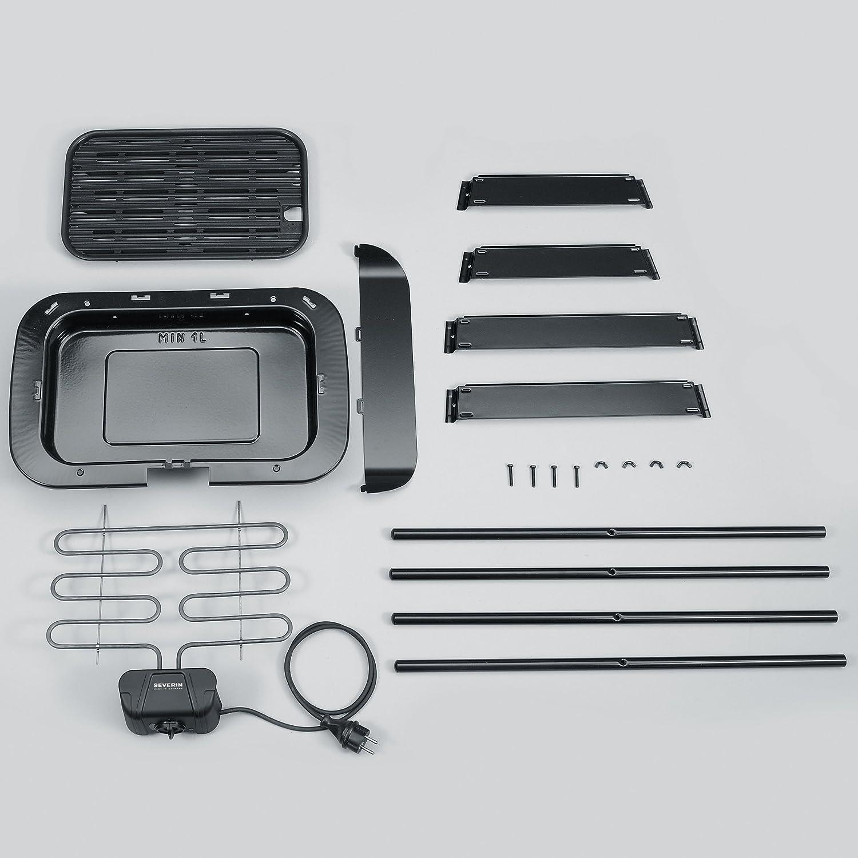 Severin PG 8522 Barbecue-Elektrogrill schwarz
