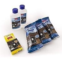 Melitta 6-delige verzorgingsset voor volautomatische koffiemachines en espressomachines | 3x ProAqua waterfilter | 2x…