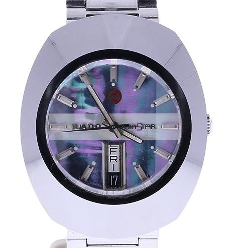 Rado Diastar swiss-automatic Mens Reloj 8.6250008.3 (Certificado) de segunda mano: Rado: Amazon.es: Relojes