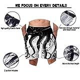 1ffdc58d34 Alistyle Men's 3D Octopus Printing Quick Dry Beach Board Shorts Swim Trunks  XXL