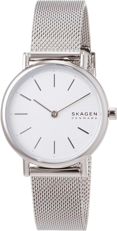 Skagen Reloj Analogico para Mujer de Cuarzo con Correa en Malla de Acero Inoxidable SKW2692
