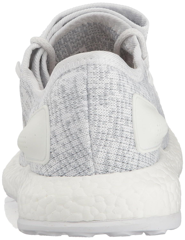 adidas Performance Men's Pureboost Running Shoe B01N41IRRF 8 D(M) US|White/Clear Grey/White