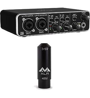 2-channel Musical Instruments & Gear Behringer U-phoria Umc202hd Pro Audio Equipment