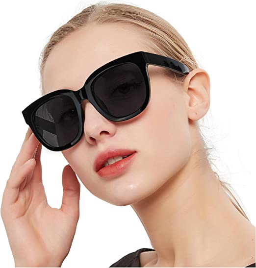 SIPHEW Medium Polarized Fit Over Sunglasses for Prescription Glasses-Over Glasses Sunglasses 100/% UVA//UVB Protection