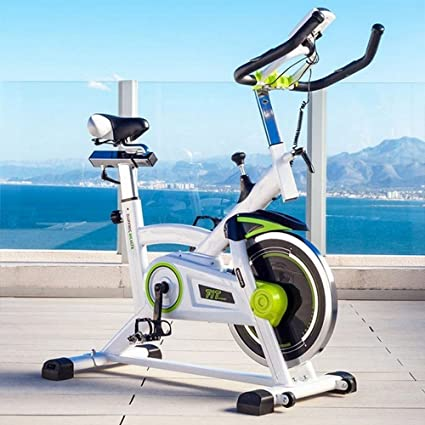 Velo Spinning biking estática fitness pro Training 16 kg White ...