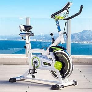 Velo Spinning biking estática fitness pro Training 16 kg White ...