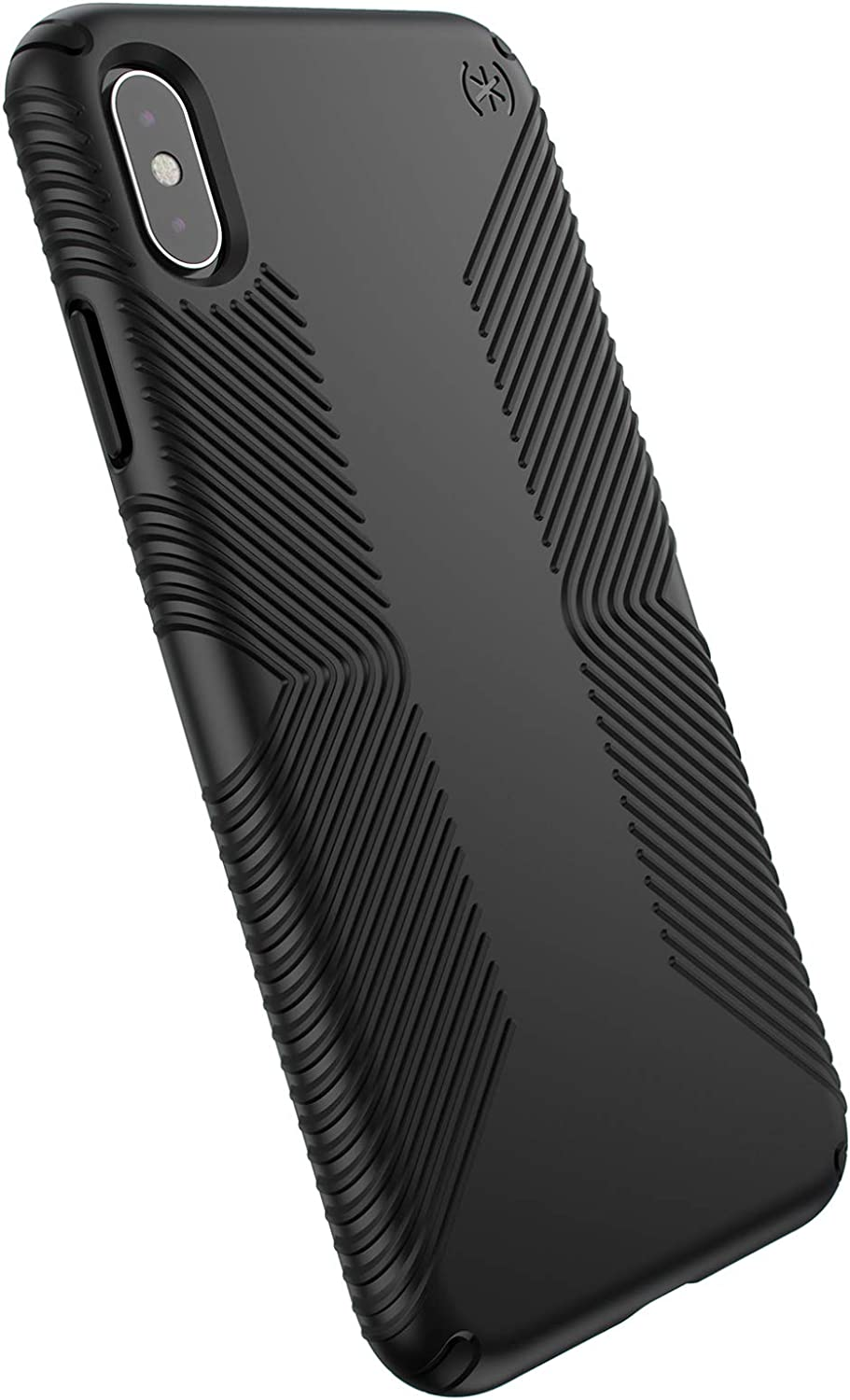Speck Presidio Glossy Grip Case for Apple iPhone Xs Max Black 120254-7715