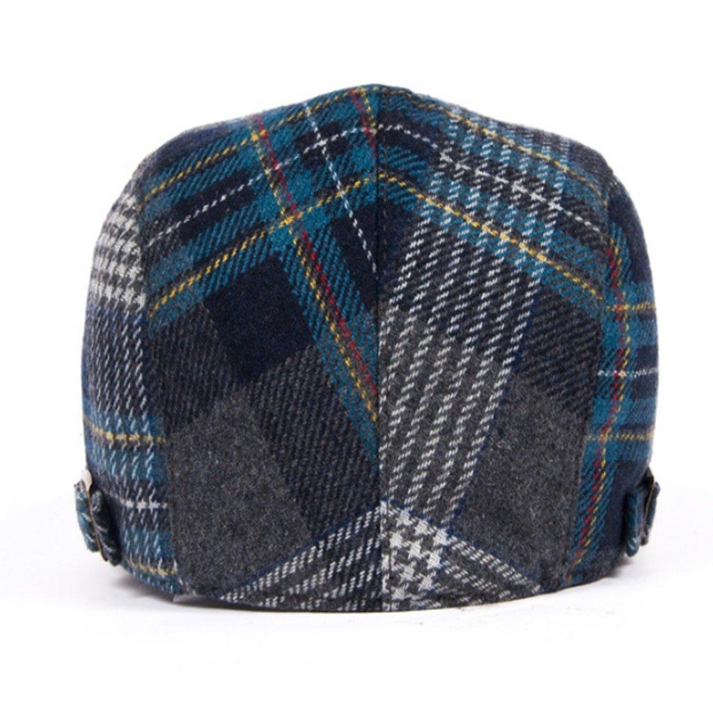 NUBAO Gorra De Algodón Escocesa De Los Hombres De La Boina Gorra Escocesa  De Las Mujeres Sombrero Escocés De La Moda Sombrero Casual De Invierno  (Color ... 27a3a8f8710