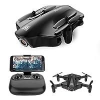 Potensic Drone Pieghevole U29 con Telecamera HD 720P WiFi FPV 2.4Ghz Drone Telecomandato con Funzione di Flusso ottico Senza testa Adatto ai Principanti