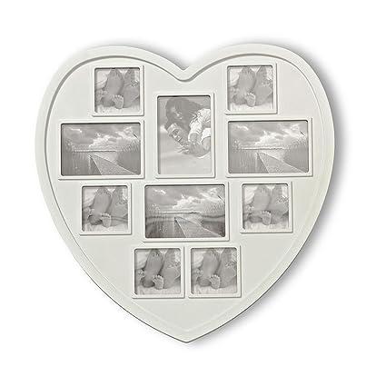 Amazon.com - Whole House Worlds The Big White Heart Multi Photo ...