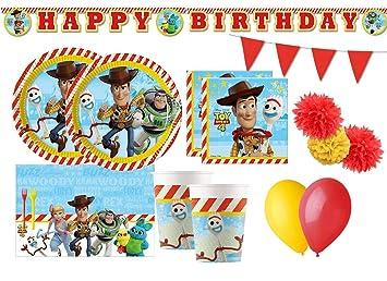 Irpot Kit 54 - F Fiesta de cumpleaños de Toy Story 4: Amazon ...