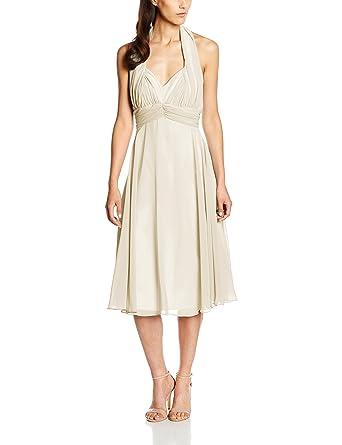 Swing Damen Neckholder-Kleid: Amazon.de: Bekleidung