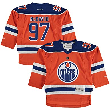 0031e758c0e Connor McDavid Edmonton Oilers Orange Toddler 2T-4T Reebok Alternate Replica  Jersey  Amazon.ca  Clothing   Accessories