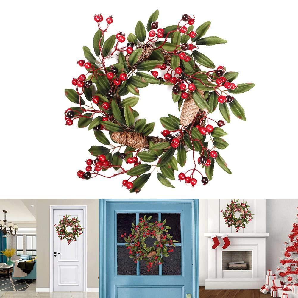 couronnes et guirlandes de nol wreaths amp garlands christmas. Black Bedroom Furniture Sets. Home Design Ideas