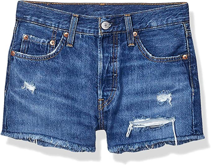 Levi's Women's 501 Original Shorts, Sansome Muse, 28 (US 6)