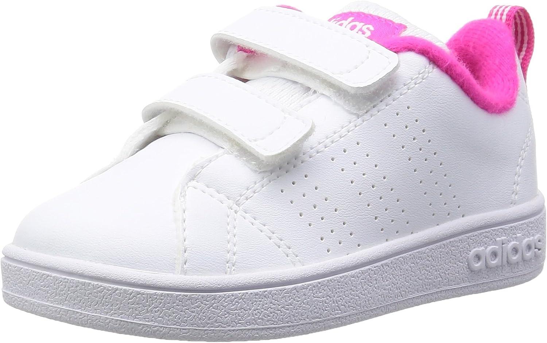 Adidas AW4890, Zapatos de recién Nacido Unisex niños, Blanco (Ftwbla/Ftwbla/Rosimp), 22 EU: Amazon.es: Zapatos y complementos
