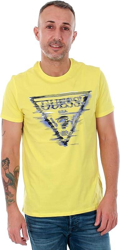 GUESS Camiseta Hombre Amarillo M81I12I3Z00 - G259
