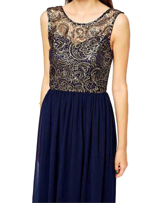 YOGLY Damen Abendkleider Lang Abschlussball Dress ...