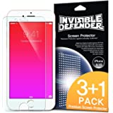 "iPhone 6S / 6 Screen Protector - Invisible Defender [3+1 Free/MAX HD CLARITY] iPhone 6S / 6 (4.7"") Screen Protector Lifetime Warranty Perfect Touch Precision High Definition (HD) Clarity Film (4-Pack) for Apple iPhone 6S / 6 4.7 Inch"