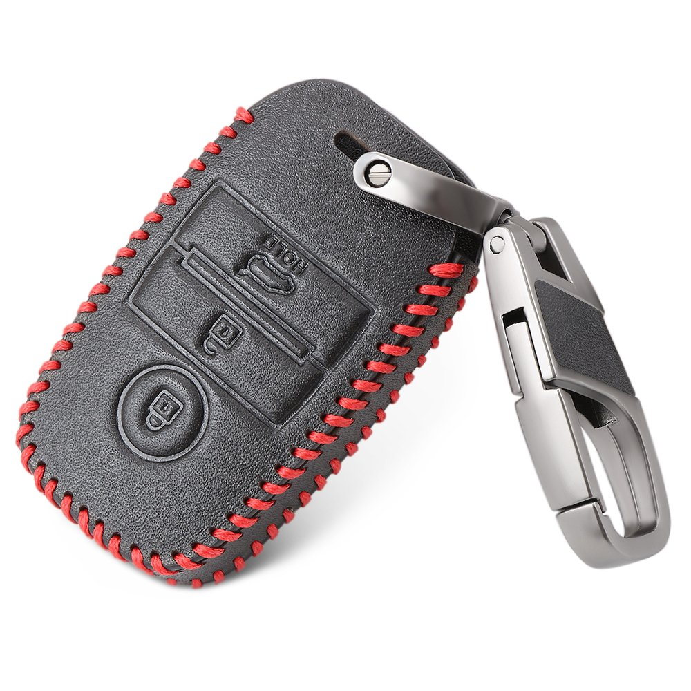 Bucada auto portachiavi Key Cover Case Custodia pelle