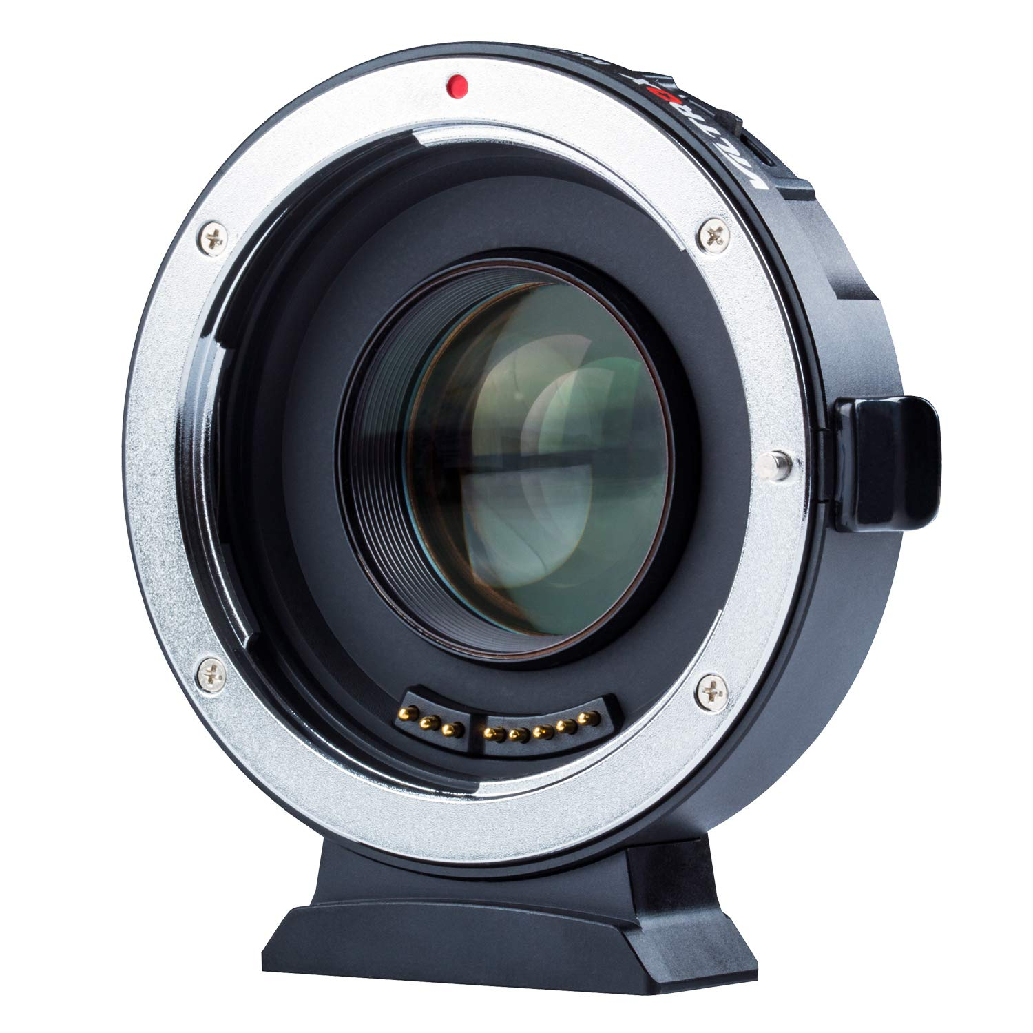 VILTROX EF-M2 II Electronic AF Auto Focus 0.71x Focal Reducer Speed Booster Lens Mount Adapter for Canon EF Mount Lens to M4/3 camera GH5 GH4 GF1 GX85 E-M5 E-M10 E-M10II E-PL3 PEN-F by VILTROX