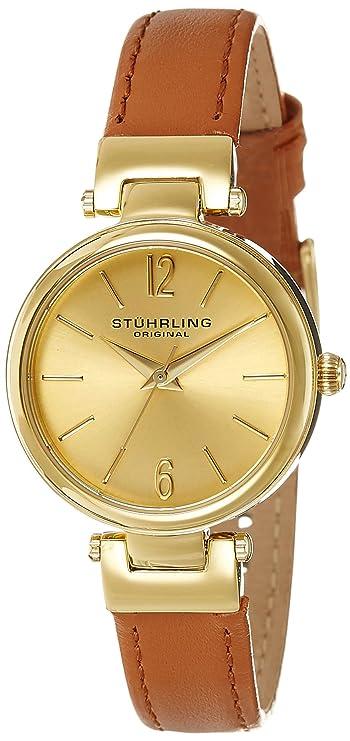 Stuhrling Original Analog Gold Dial Women's Watch-956.02 Women at amazon