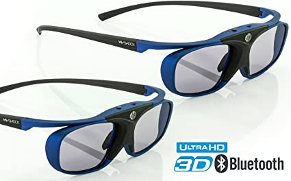 EH-TW5100 EH-TW8100 EH-TW7200 RF FullHD 3D glasses Hi-SHOCK/® Black Heaven Bluetooth EH-TW5210 EH-TW6100 EH-TW570 EH-TW550 EH-TW5200 EH-T EH-TW5350 EH-TW5910 EH-TW6600 for EPSON/® Projectors or Smart 3DTV /'s   EB-W16 EH-TW5300