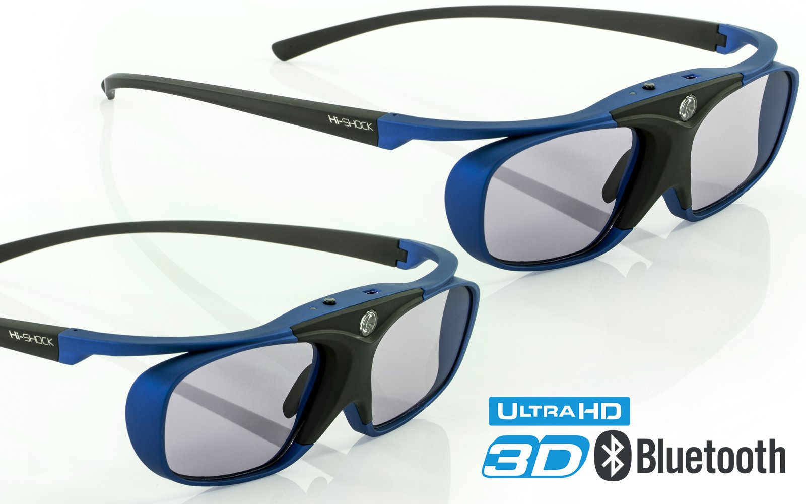 Galleon - 2X Hi-Shock RF Pro Deep Heaven | 3D Glasses For