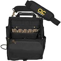 Custom Leathercraft 1509 alet çantası, siyah, 21 cep