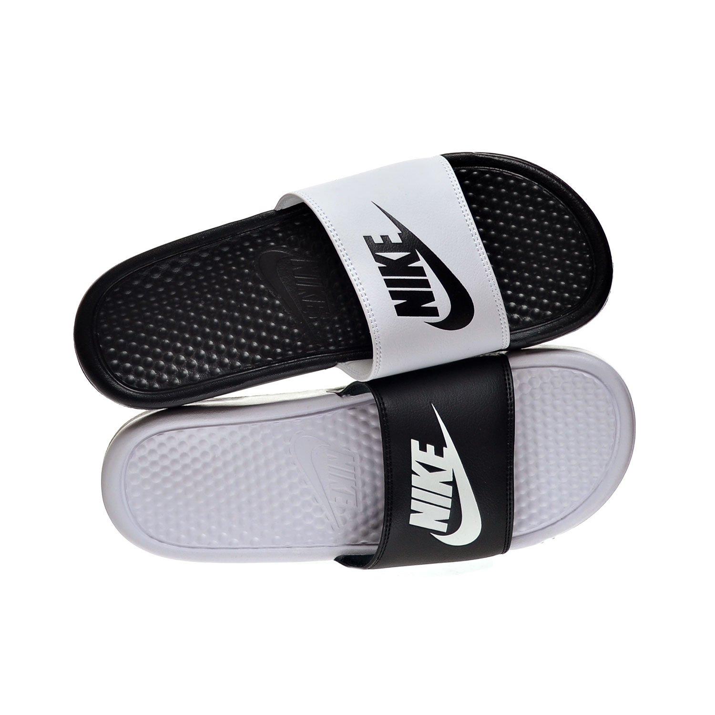 90495eaa664 NIKE Benassi JDI Mismatch Men s Sandals Black White 818736-011 (10 D(M)  US)  Amazon.co.uk  Shoes   Bags